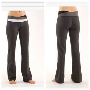 Lululemon Astro Yoga Pant Heathered Black Grey